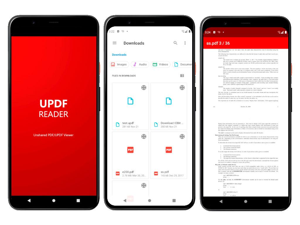 UPDF Reader Android full screenshot